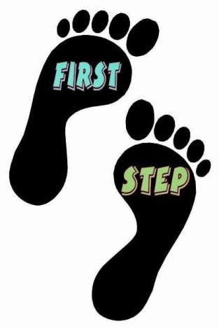 Imagini pentru primul pas