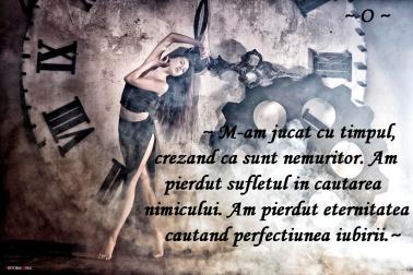 Imagini pentru timpul nu sta in loc cauti perfectiunea